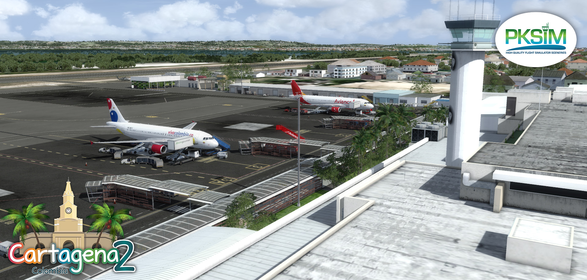 PKSIM :: High Quality Flight Simulator Sceneries